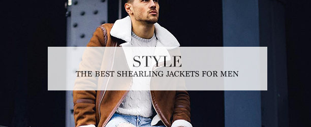 shearling jackets for men