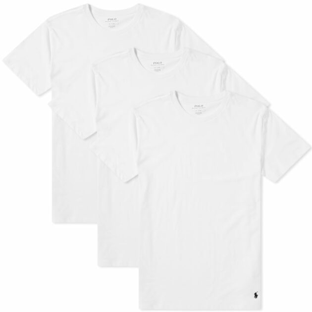 white t-shirt by ralph lauren