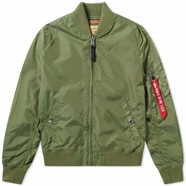 Alpha Industries MA-1 TT Jacket Sage Green