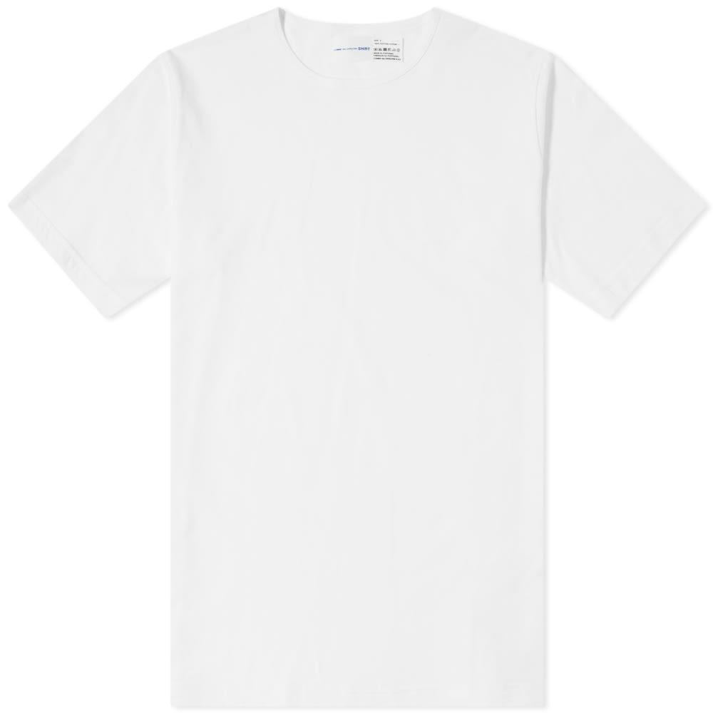 white crew t shirt