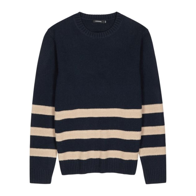 j.lindenberg_navy_striped_wool_jumper