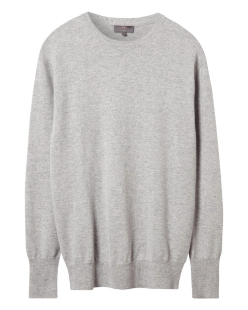 n.peal_oxford_round_neck_jumper