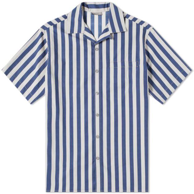 Lanvin Stripe Vacation Shirt – vertical stripe shirts