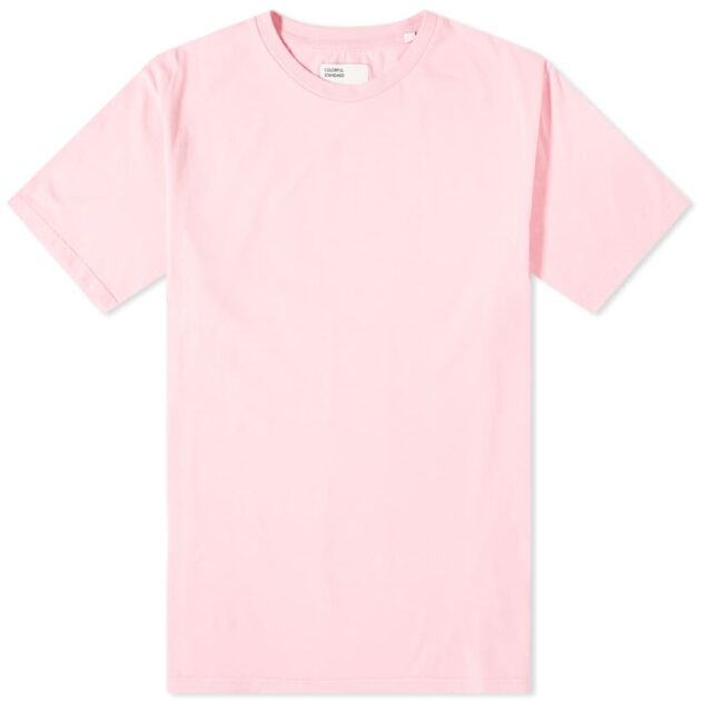 pastel coloured t shirt – spring casualwear essentials