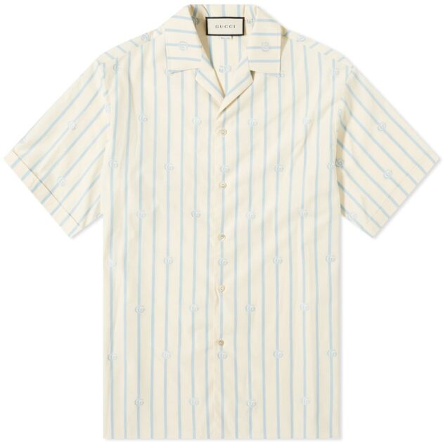 Gucci Striped GG Vacation Shirt – vertical stripe shirts