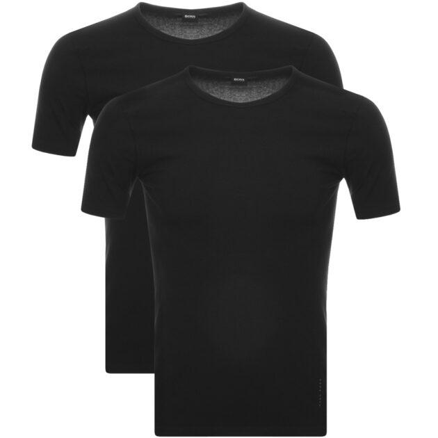 black hugo boss t shirt – spring casualwear essentials