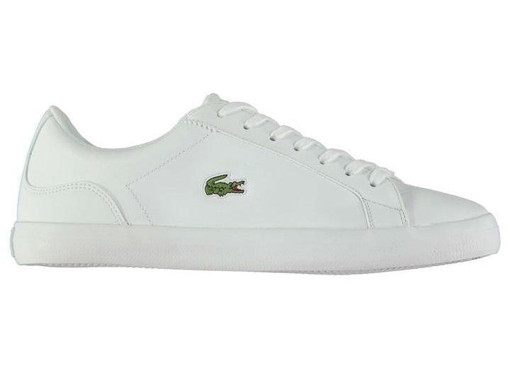 white minimalist trainers – spring casualwear essentials