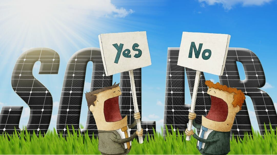 Solar Panels are going on Air Flow's Roof. Would you have bought them?