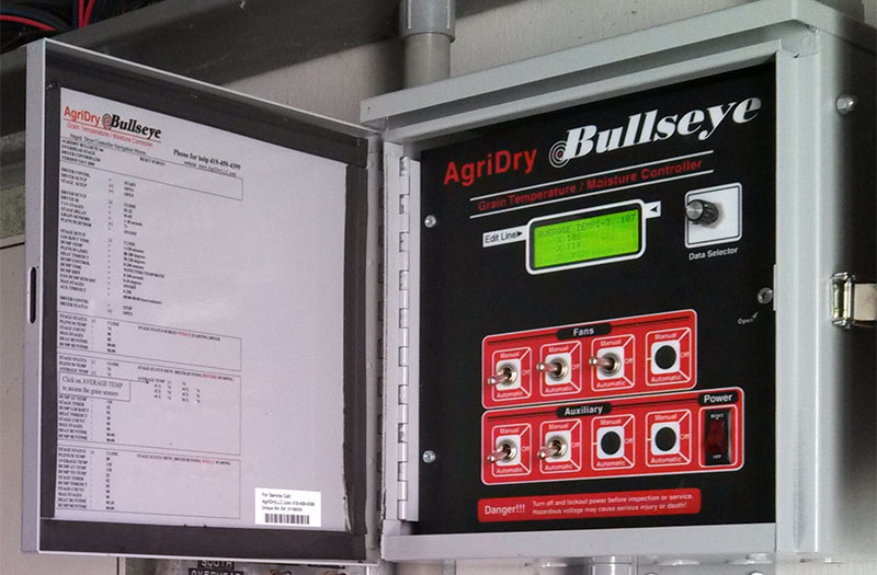 AgriDry dryer controller