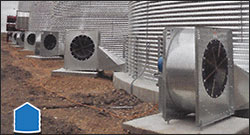 LOW-SPEED CENTRIFUGAL FAN