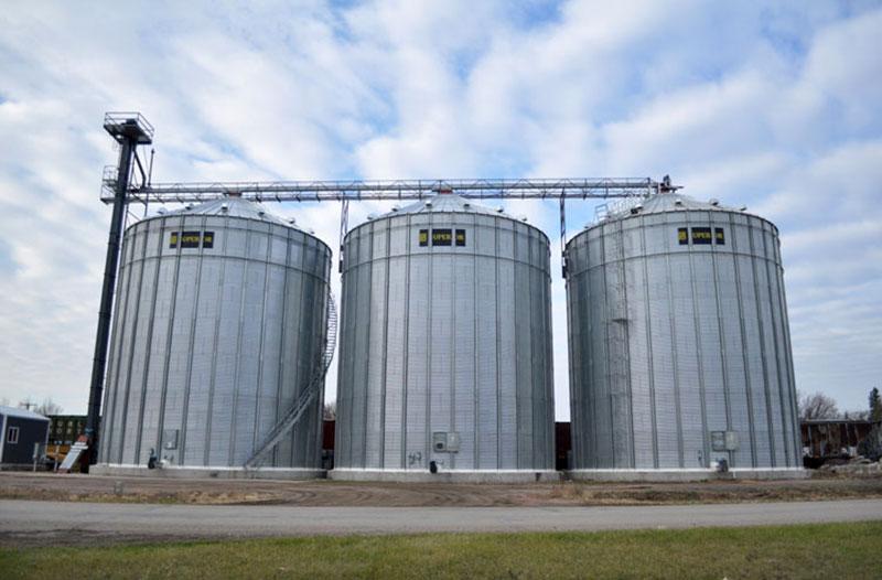 Commercial Grain Storage Bins
