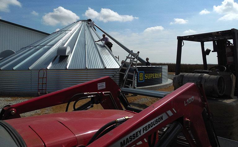 Farm Bins - Under Construction