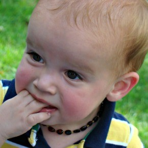 Teething & the Baltic Amber Necklace