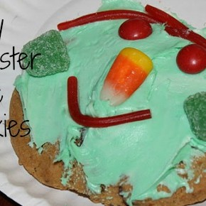 Kids in the Kitchen :: Monster Face Cookies