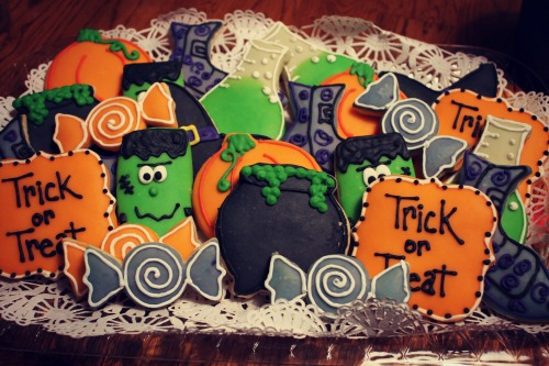 Halloween Cookies by Vivian Sweets