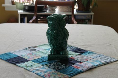 Owl Shower Centerpiece