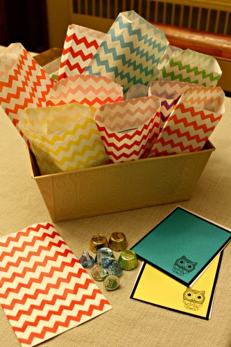 Owl Shower Goodie Bags