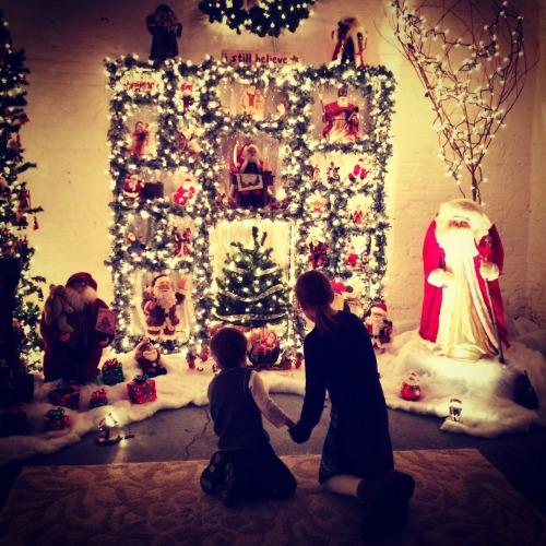 Santa at Moerlein