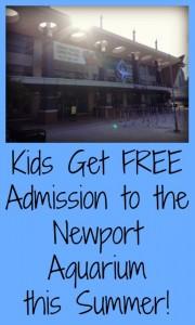 Kids Get FREE Admission to the Newport Aquarium this Summer
