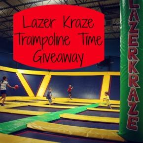 Lazer Kraze Giveaway {CLOSED}