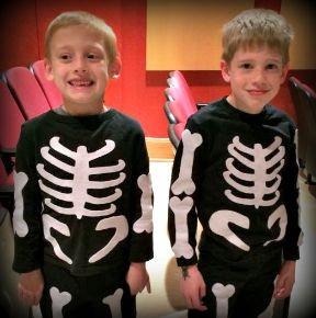 DIY Skeleton Costume Inspiration