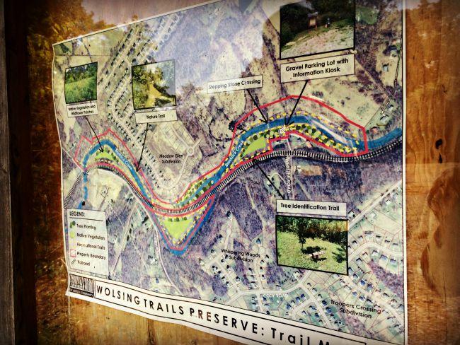 Wolsing Trails Map