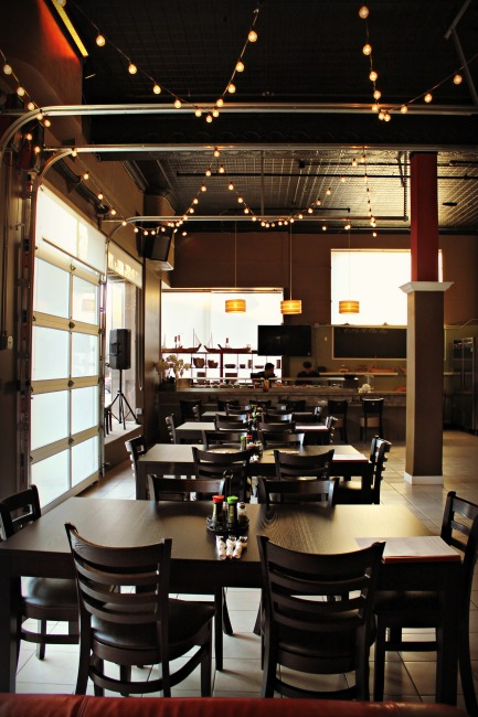 Small City Taphouse Dining Room