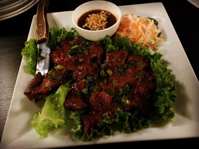 Small City Taphouse Pork Lettuce Wrap