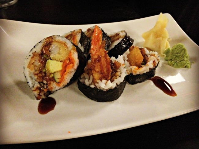 Small City Taphouse Sushi
