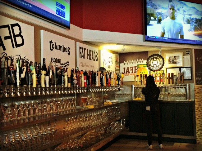 Small City Taphouse Taps