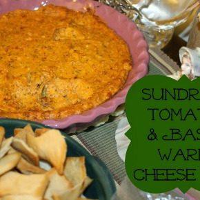 Sun Dried Tomato & Basil Cheese Dip