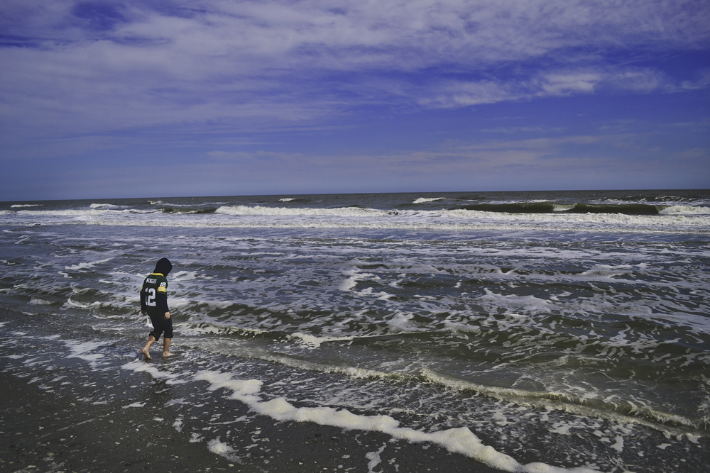Jackson at Folly Beach