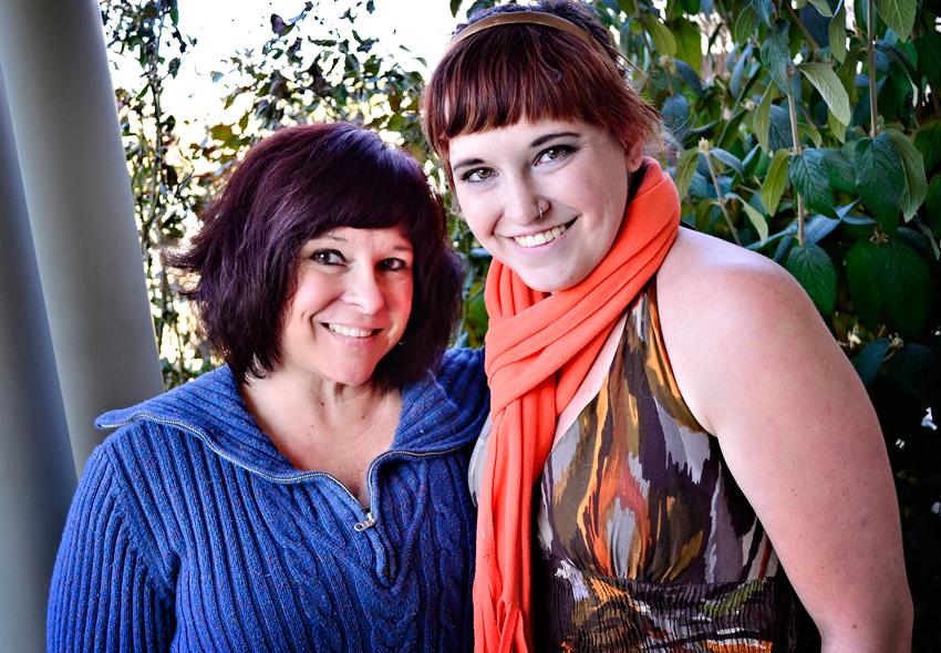 Tami and Hayli November 2013