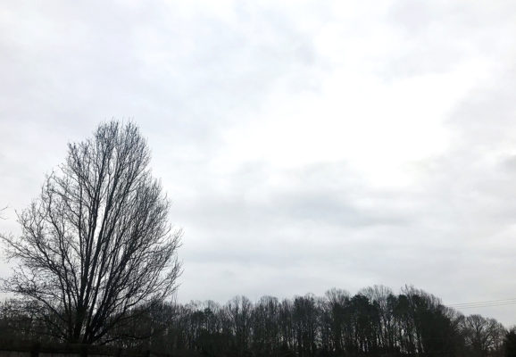 A perpetual gray cloud
