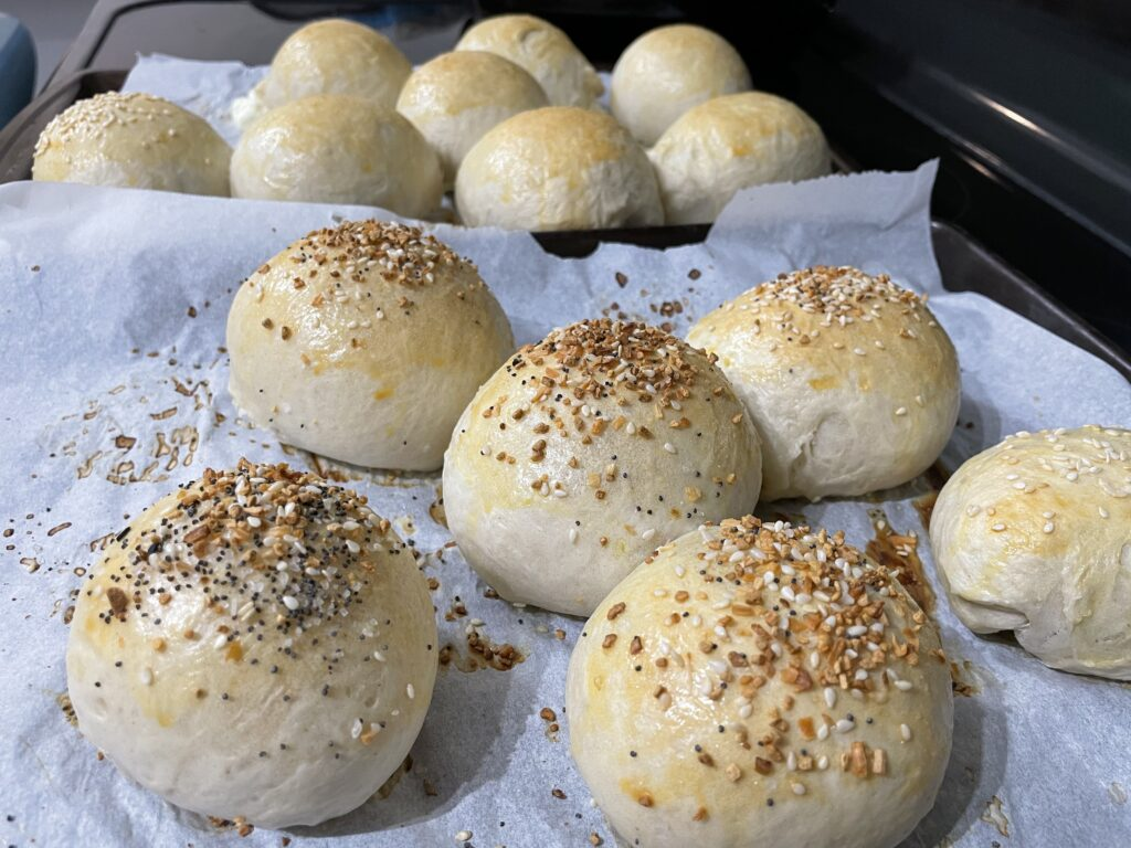 Stuffed Bagel Balls