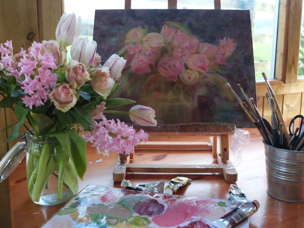 art, painting, artist