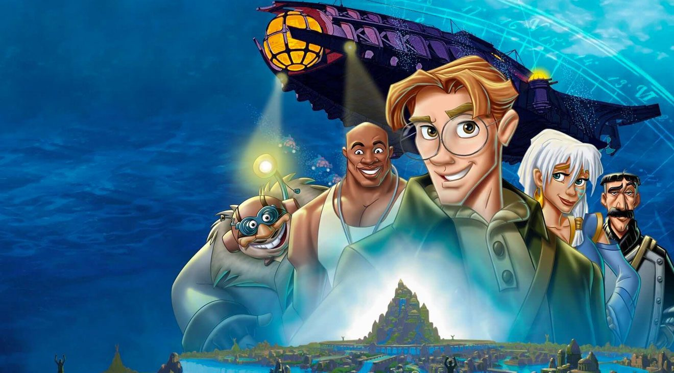 Disney's ATLANTIS: THE LOST EMPIRE is a great find