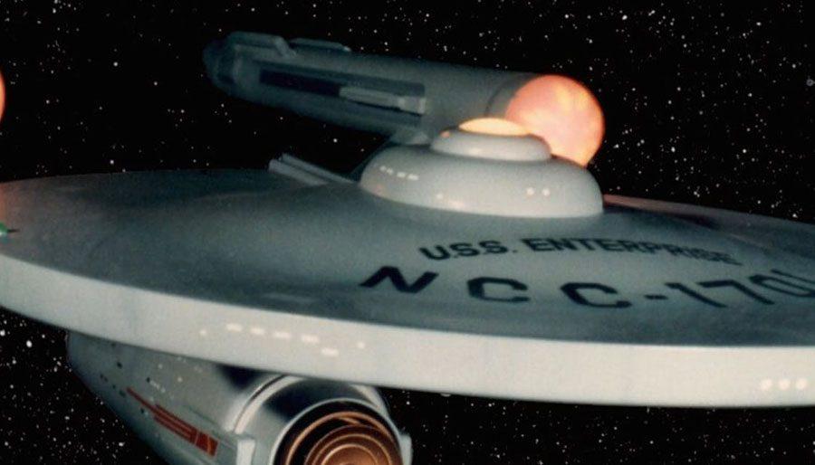 Spending a lifetime with Star Trek.