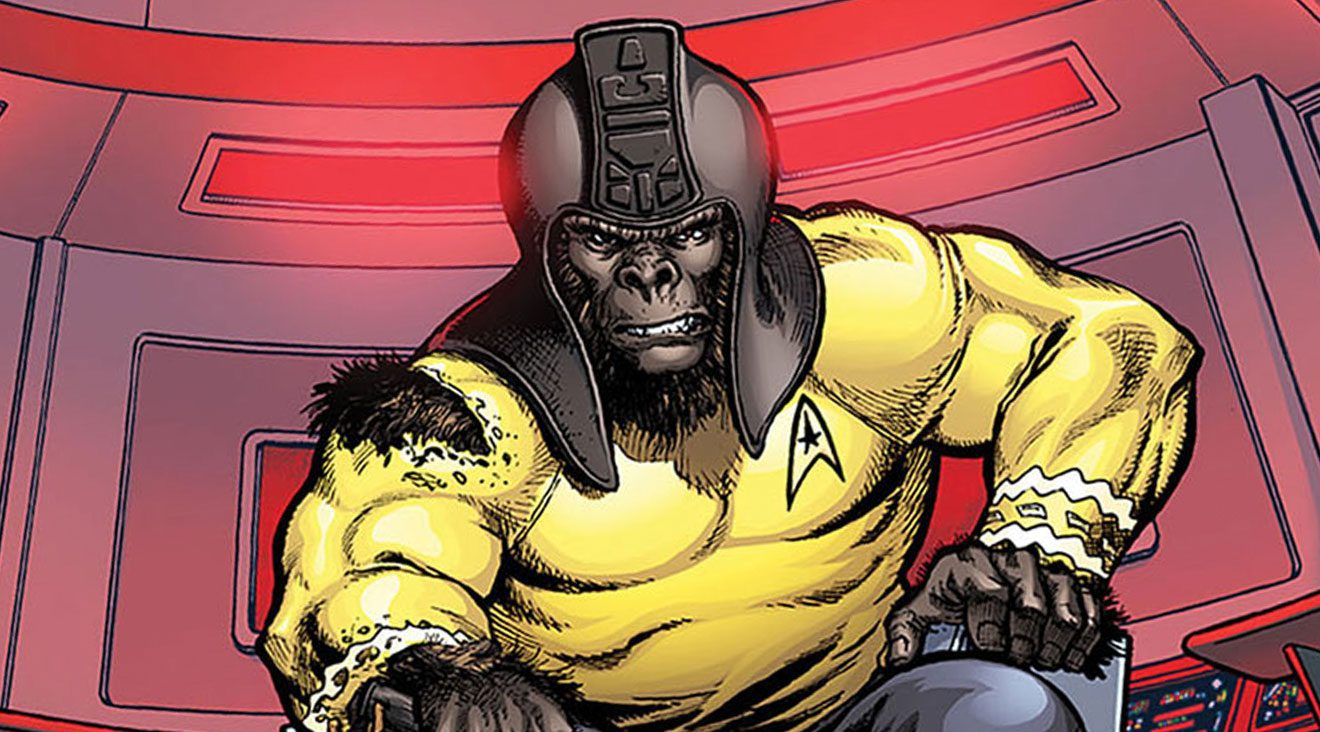 Why can't Star Trek be more like Planet of the Apes?