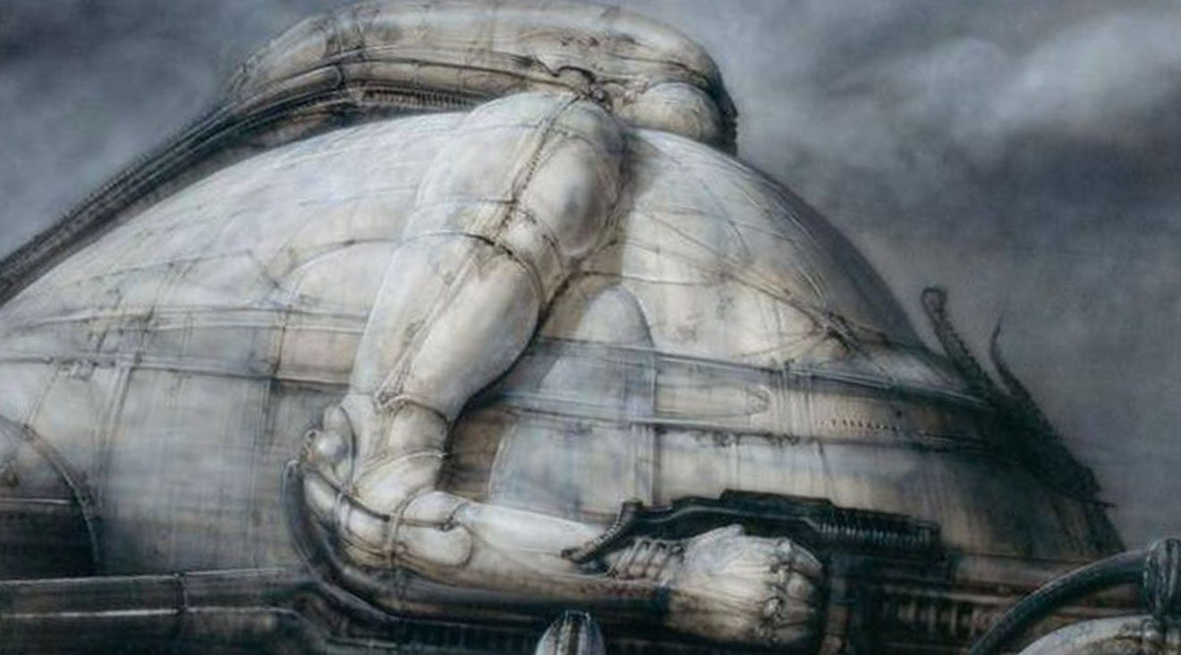 Jodorowskys DUNE artwork by Giger