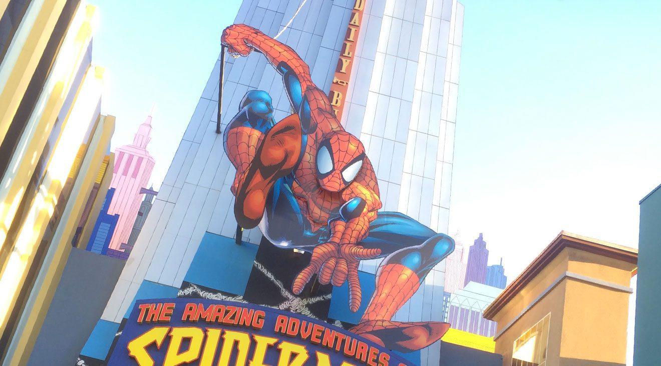 Spider-Man Ride at Universal Studios