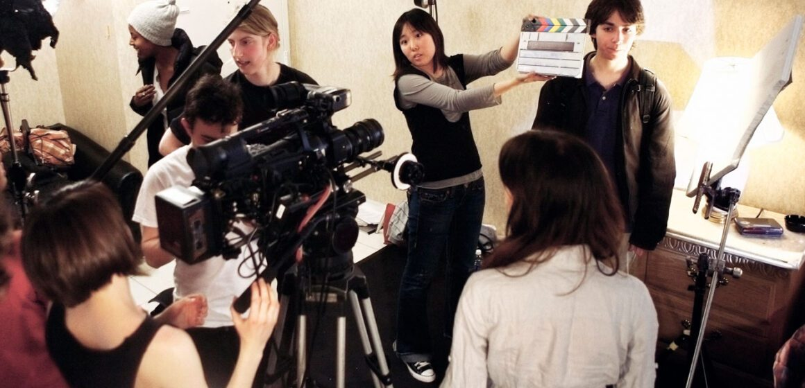 Producing a film is a lesson in teamwork