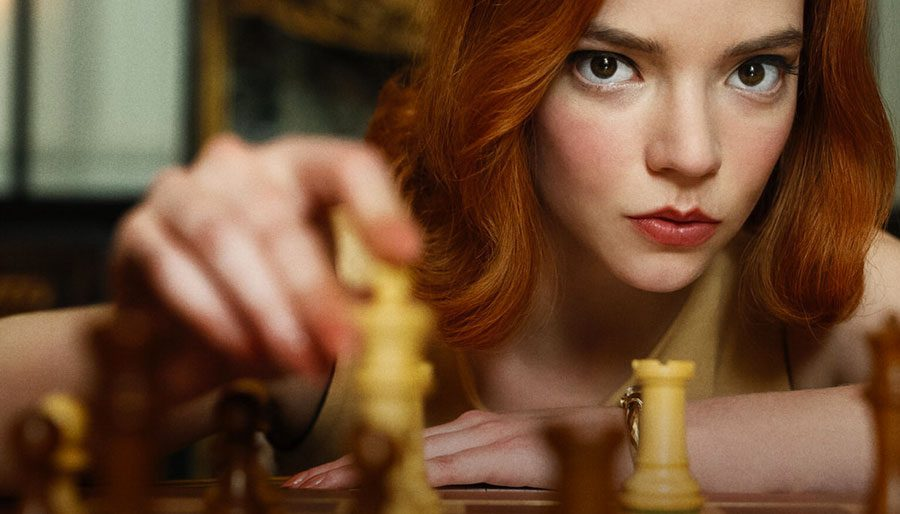 QUEEN'S GAMBIT takes chess to a new level.