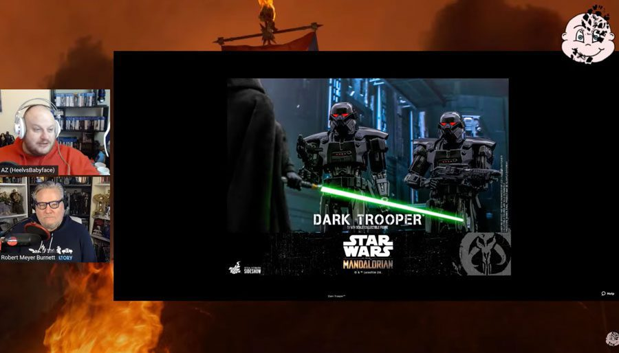 The episode where RMB and AZ talk about the big news of the week: Dark Trooper Hot Toys are coming! (#007)