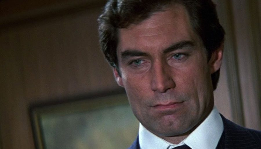 Loving the living daylights out of Dalton's Bond