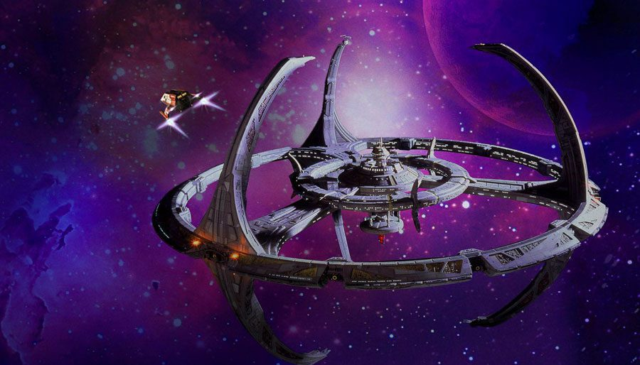 Midway through the Dominion Wars, Willow thinks DS9's future looks pretty bleak.