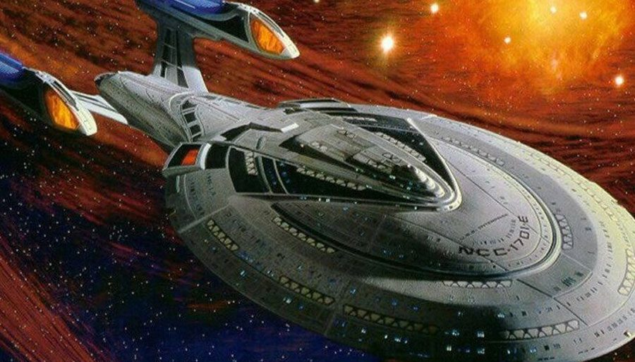 Where was the Enterprise-E during the Dominion War?