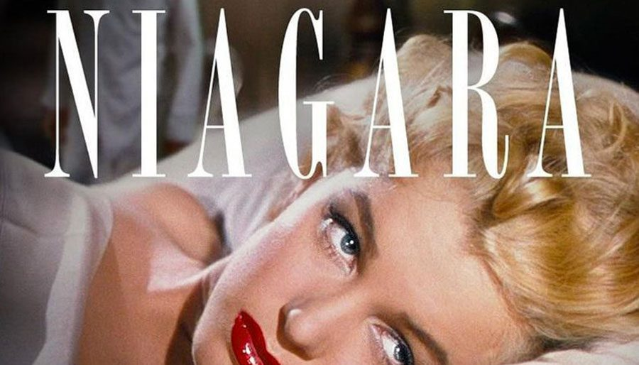 NIAGRA is classic film noir with a shapely femme fatale.