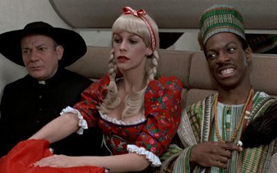 TRADING PLACES is a throwback to (even) older comedies.