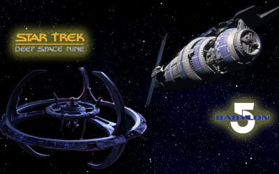 Is ST:DS9 a copy of BABYLON 5?